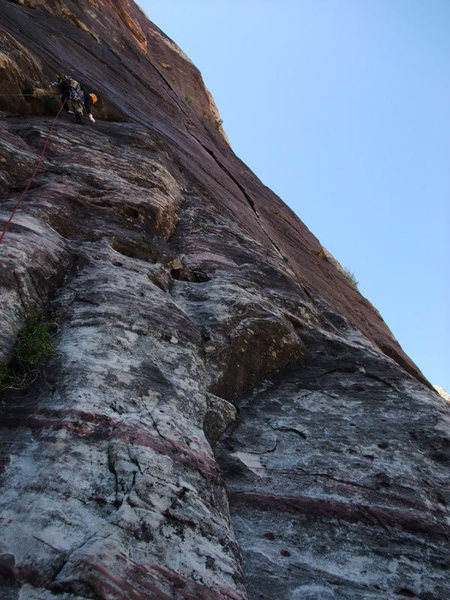 Rock Climbing Photo: and P1 the PG way