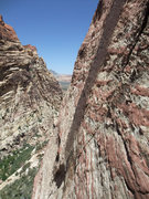 Rock Climbing Photo: view downcanyon