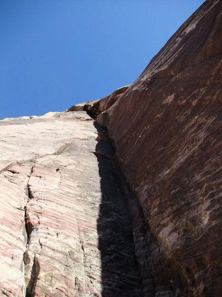Rock Climbing Photo: P3 on rap