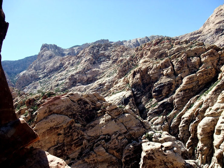 Rock Climbing Photo: view from Adventure Punks trying to scope out the ...