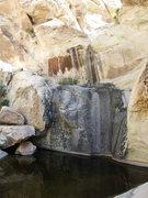 Rock Climbing Photo: lots of water still left in June