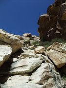 Rock Climbing Photo: easy scrambling