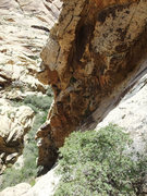 Rock Climbing Photo: 4th class slab