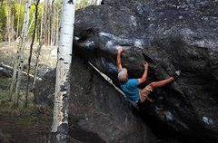 Rock Climbing Photo: Jordan Winters on 'Minturn Mile'.