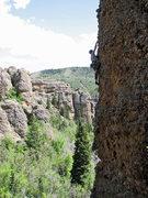 Rock Climbing Photo: John Ross on Duffman.