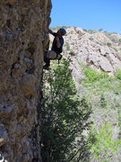 Rock Climbing Photo: Kip Henrie on Quickie-Mart.