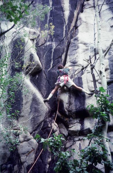 Rock Climbing Photo: Lincoln Creek in July