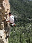 Rock Climbing Photo: Josh Gross sending.