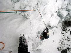 Rock Climbing Photo: Looking down into Gemini Gully, Lock Haven, PA