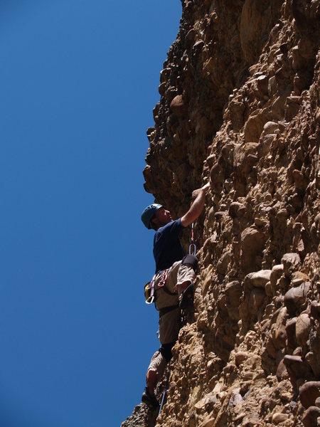 Rock Climbing Photo: Kip Henrie on Leftorium
