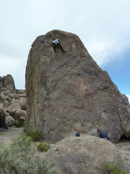 Rock Climbing Photo: me on the 10a - woohoo what a rush!