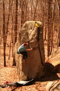 Rock Climbing Photo: into the layback