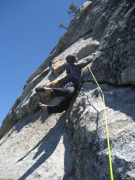 Messing around on the third pitch of Fingertrip