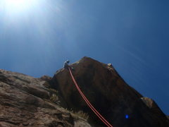 Rock Climbing Photo: Sweet rap over Triton Tower