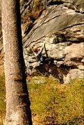 Rock Climbing Photo: Final moves