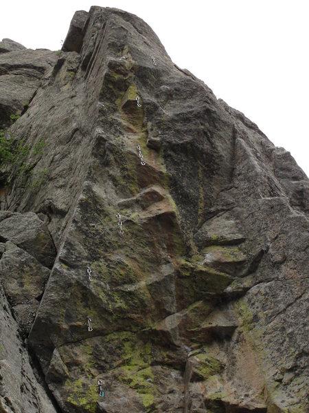 Rock Climbing Photo: Mordred.