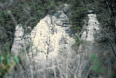 Rock Climbing Photo: White Rocks as seen from the Cumberland Valley