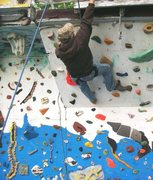 Rock Climbing Photo: west wall overhangs