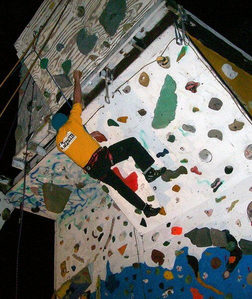 night climbs on the west face