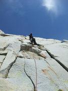 Rock Climbing Photo: P2 of Red Bush