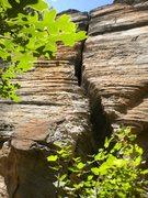 Rock Climbing Photo: Bear Crack
