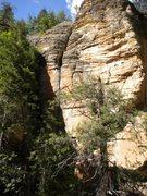 Rock Climbing Photo: Bear Crack again