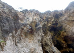 Rock Climbing Photo: Bridging on Lycian Highway.  Turkey.