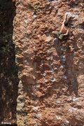 Rock Climbing Photo: Midway on Bolting Barbie