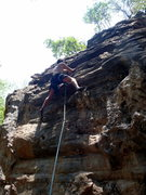 Rock Climbing Photo: Route 8. Nagarjun Forest Kathmandu Nepal