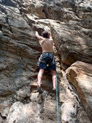 Rock Climbing Photo: Starting up route 10.  Nagarjun Forest Kathmandu N...