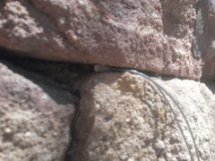 Rock Climbing Photo: Gear4Rocks nut in a placement. Lots of metal touch...