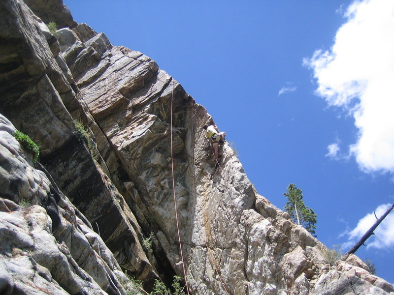 Rock Climbing Photo: Nice day for a climb, Griz.