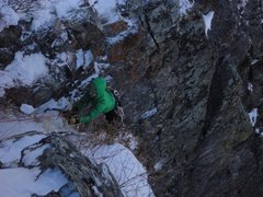 Rock Climbing Photo: Hessie's Chimney!