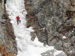 Rock Climbing Photo: Dave Hoven cruising Tony's.