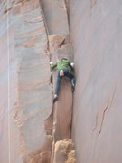 Rock Climbing Photo: Indian Creek - Lady Pillar, Optimator Buttress