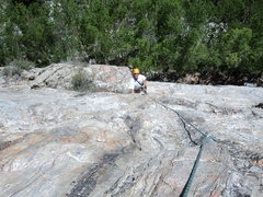 Rock Climbing Photo: The rock changes even from lower to upper half on ...