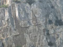 Rock Climbing Photo: The big limestone of Arco.