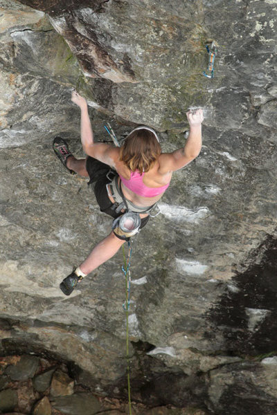 Rock Climbing Photo: lily... i love this one...
