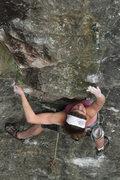 Rock Climbing Photo: reaching...