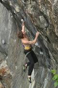 Rock Climbing Photo: jump otey jump!