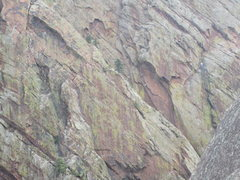 Rock Climbing Photo: First find the climbers, then guess the climb.