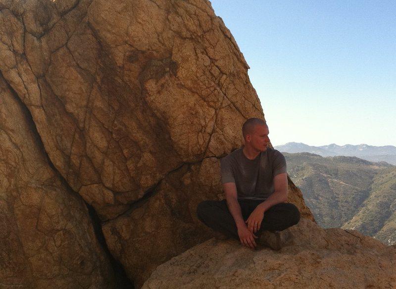 Rock Climbing Photo: Resting