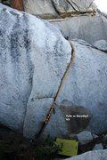 Rock Climbing Photo: Toto or Dorothy V3, Topo