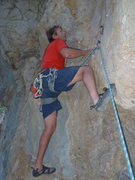 Rock Climbing Photo: at the steep start.