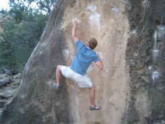 Rock Climbing Photo: those sharp crimps hurt too bad on tender fingers