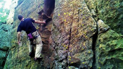 Rock Climbing Photo: Nathan Nelson on Blinded by Lust  photo captured f...