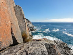 Rock Climbing Photo: The ramp leading down to Ocean Boulevard and Lassi...