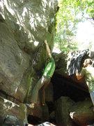 Rock Climbing Photo: Jeremy at the start.