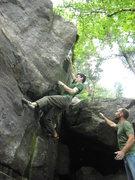 Rock Climbing Photo: Jeremy locking it in.