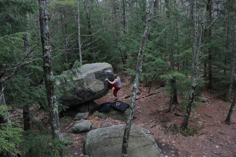 Rock Climbing Photo: Jared LaVacque on Atlas